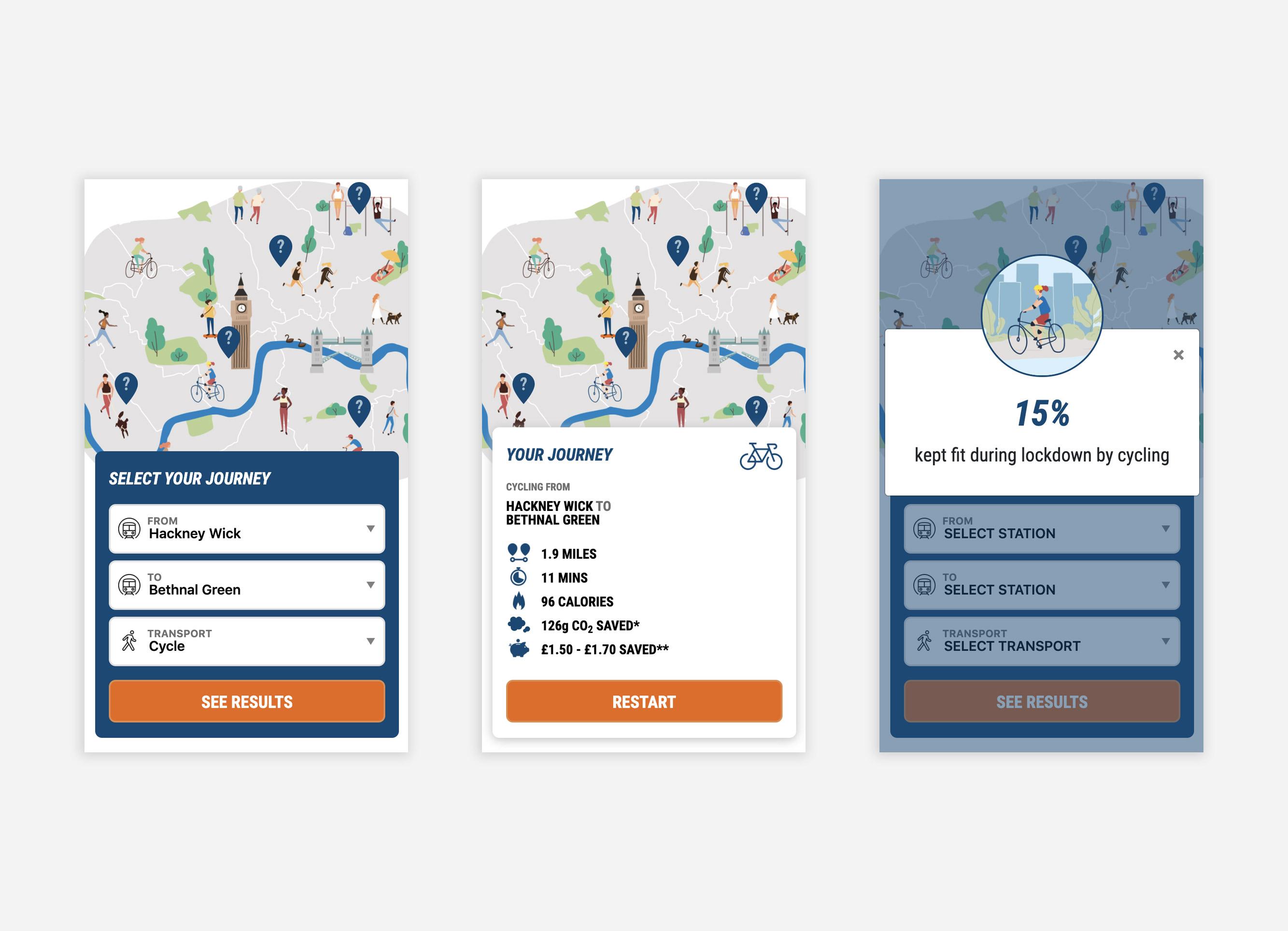Decathlon - The Healthy London Transport Map